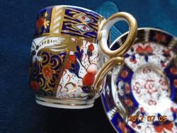Royal Crown Derby-Alfred B.Pearce-antik angol csésze+alátét