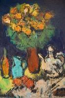 Konfár Gyula (1933- 2008):  Virágcsendélet
