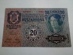 20 korona II kiadás UNC