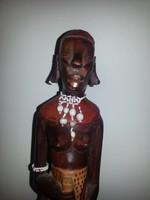 Afrikai női szobor