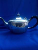 Art Deco ezüstözött kávéskanna gyönyörű forma!