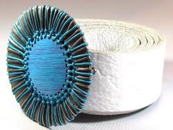 Egyedi készítésű bőröv (Kecs-R50286)