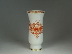 0N352 Antik kardos Meisseni porcelán váza