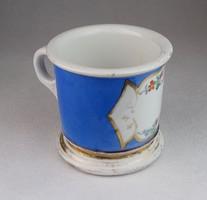 0N351 Antik vastag falú osztrák porcelán bögre