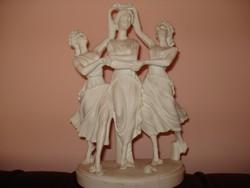 Alabástrom szobor 3 grácia