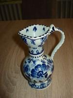 Régi Delfts porcelán kancsó