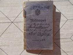 1903-1944.Militarpass,német katonakönyv,gyalogos,bejegyésekkel,pecsetekell
