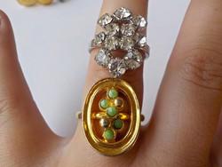 2 db. jó minőségű bizsu gyűrű