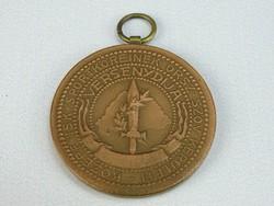 0H216 Antik irredenta sportérem bronzérem 37 mm