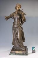 H. Levasseur La Musique nagyméretű szobor