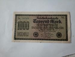 1922-es 1000 márka aUNC