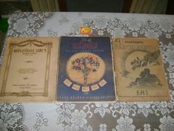 Karácsonyi album - 1920/40 - kottafüzet - három darab