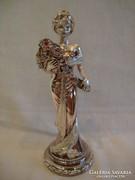 Laminato Ag ezüstözött jelzett szobor