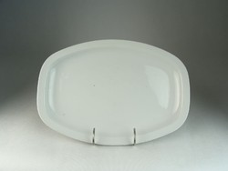 0N442 Régi Zsolnay porcelán kínáló tál tálca