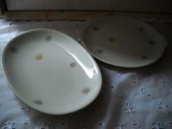 Porcelán süteményes tál 2 db eladó!