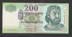 """200 forint 1998. """"FC""""!!   TÖKÉLETES UNC!!"""