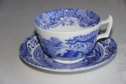 2 dl-es teás csésze alátéttel - Spode 'Blue Italian'