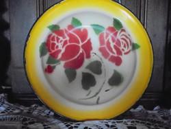 Zománcos tányér