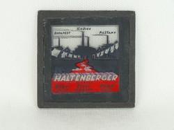 0N464 Haltenberger antik gyári reklám üvegkép