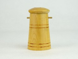 0N452 Régi fa sószóró fűszerszóró