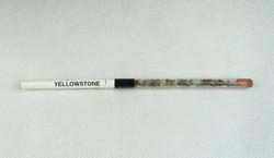0N463 Ceruza YELLOWSTONE kő gyűjteménnyel