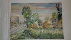 Wanek S. Ferenc Utca festmény