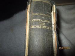 N. RIMSKY-KORSSAKOW: GRUNDLAGEN DER ORCHESTRATION