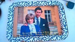 Diana Hercegnős tálca kihajtható lábakkal