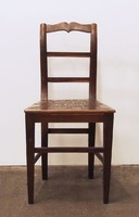 0N499 Antik faragott szék DOROTOVICS PÁL 1902