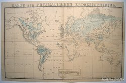 Térkép, Karte zur Physicalischen Erdbeschreibung.