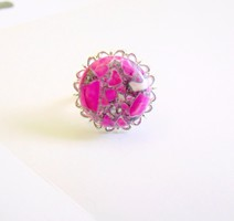 Csodaszép pink marble szett