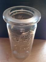Első világháborús német frissentartó üveg