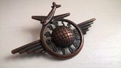 Régi bronz  bross kitűző