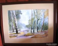 Tarr János: Akvarell