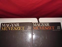 Magyar művészet 1919-1945  2 kötetben  lexikon