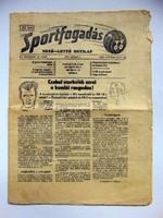 SPORTFOGADÁS1974június2 RÉGI ÚJSÁG