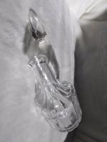 Ecetes-olajos üveg + egy üveg dugó