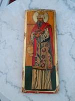Szigeti Erzsébet ikonfestő kézzel festett másolat eredeti technikával: Szent Lélek templom