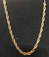 14 karátos sodort női arany nyaklánc