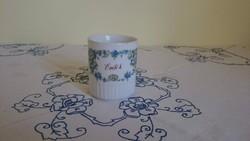 Zsolnay porcelán bögre ritkaság, igazi kuriózum - EMLÉK