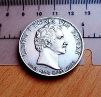 EXTRA SZÉP LUDWIG BAYOR EMLÉKÉRME U.V. 1827 X EINE FEINE MARCK
