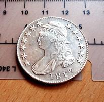 NAGYON SZÉP USA BUST HALF DOLLAR 1812 U.V.