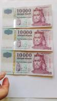 "2001,2003,2004-2009 ig   10.000.-Ft-os """