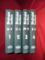 Biológiai lexikon 4 kötetben