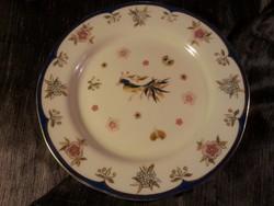 4 db Zsolnay Főnix madaras süteményes tányér