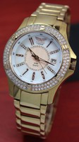 Aviator quartz wrist watch