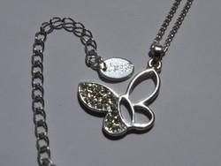 Pillangó medálos Claire's nyaklánc, 50 cm hosszú