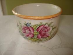 Rózsás porcelán komacsésze