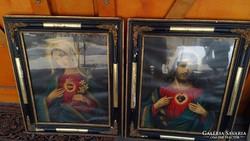 Gyönyörű Keretben Szentkép pár
