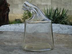 Antik Zwack  Budapest Hungary palack, üveg